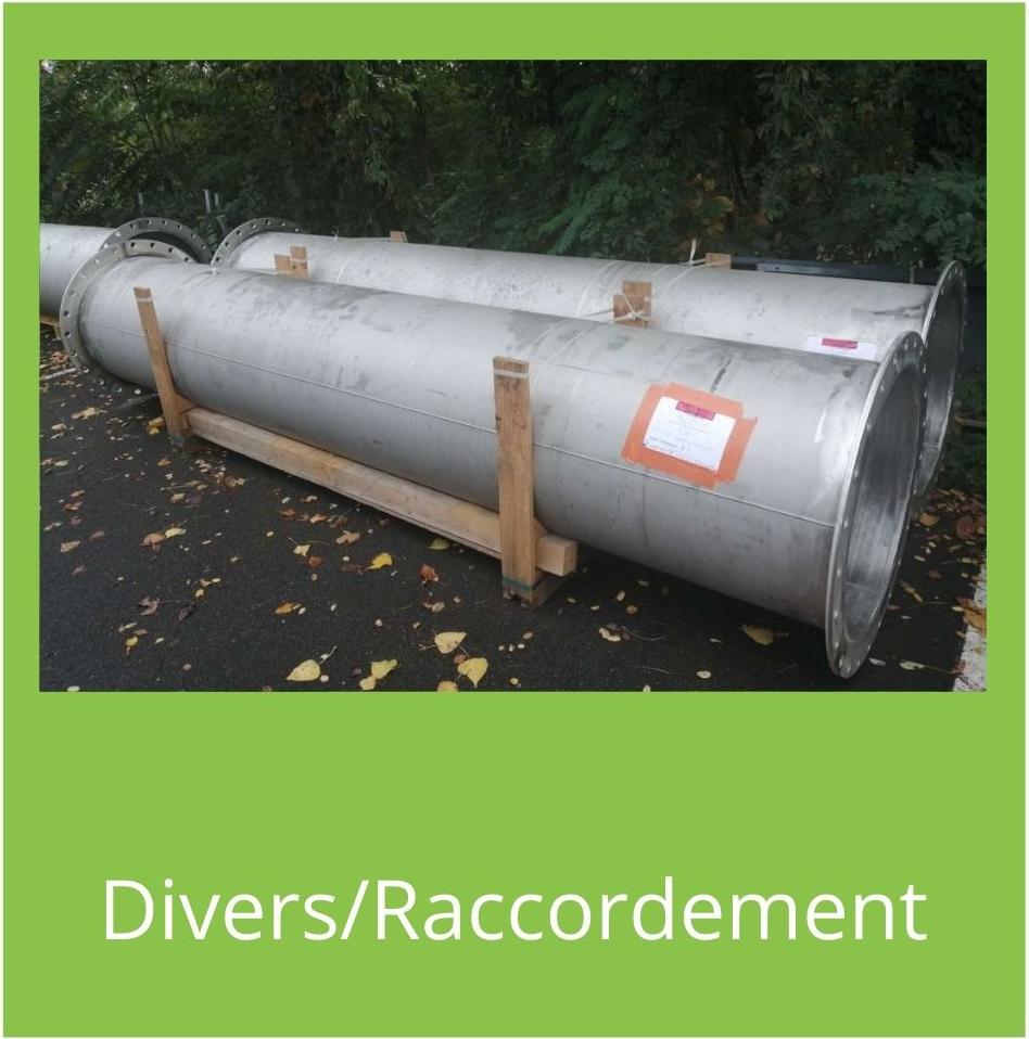 Nos produits divers/raccordement aquarem environnement