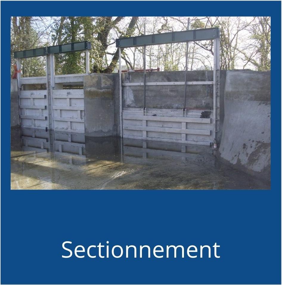 nos produits sectionnement aquarem environnement
