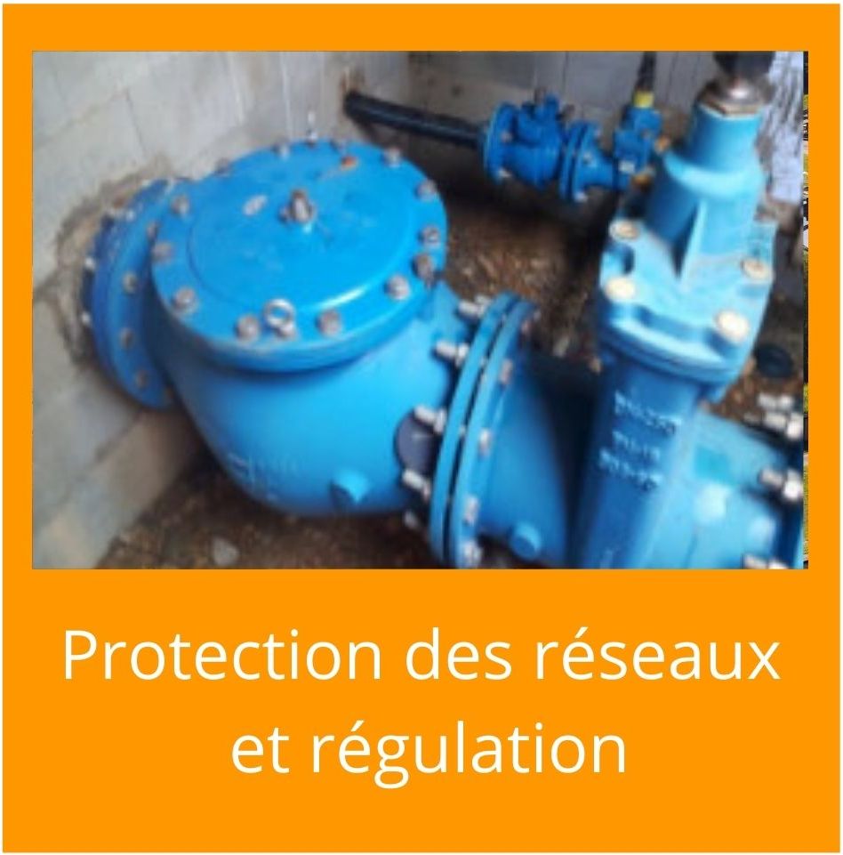 nos produits protection des réseaux d'eau et régulation aquarem environnement