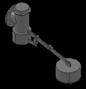 robinet à flotteur compensé aquarem environnement équipements de réservoirs et de stations