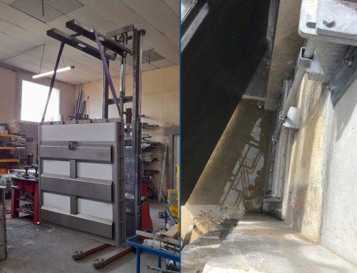 Conception et fabrication de vannes « jalousie » pour une Ecluse du canal des Ardennes