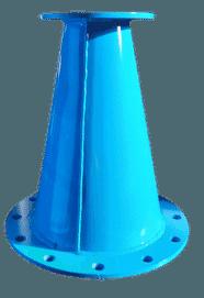 cônes spéciaux équipements de raccordement aquarem-environnement
