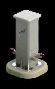 Borne fontaine AQUAPUISE aquarem environnement possibilité d'installation d'un ou plusieurs points d'eau en extérieur, puisage