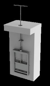 clé de barrage pour la manœuvre des vannes