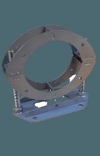 colliers en acier galvanisé équipements de raccordement sur réseaux d'eau aquarem environnement