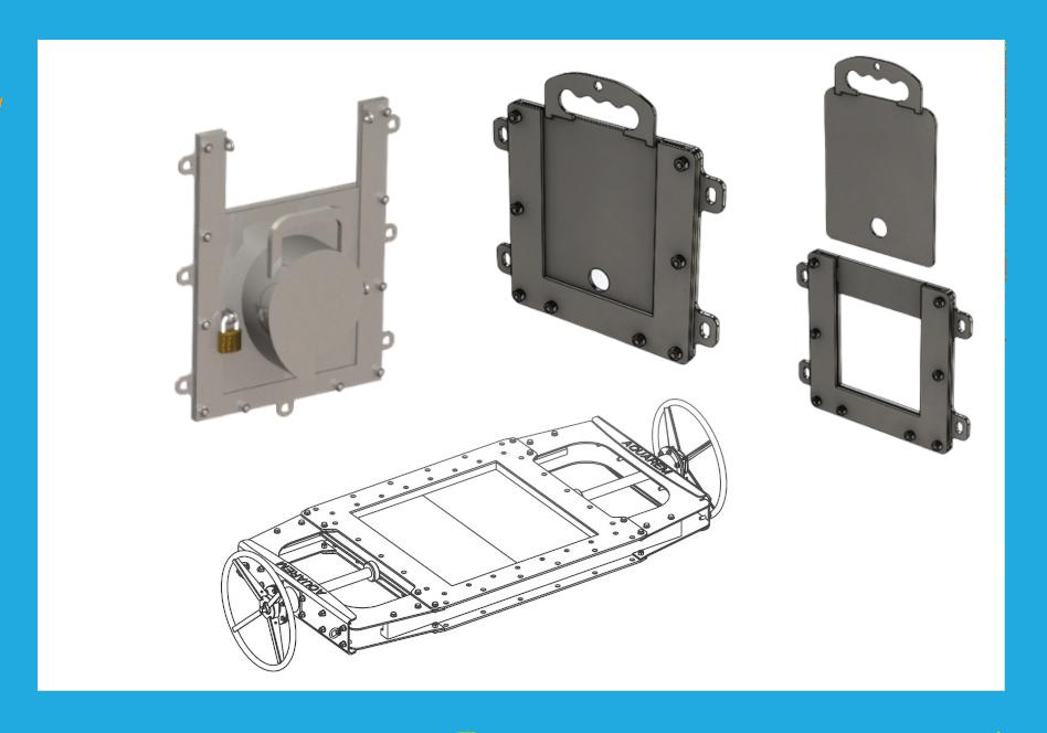 équipements pour égulation sur le réseau d'eau Aquarem-environnement: limiteurs de débit, vanne trémie double commande...