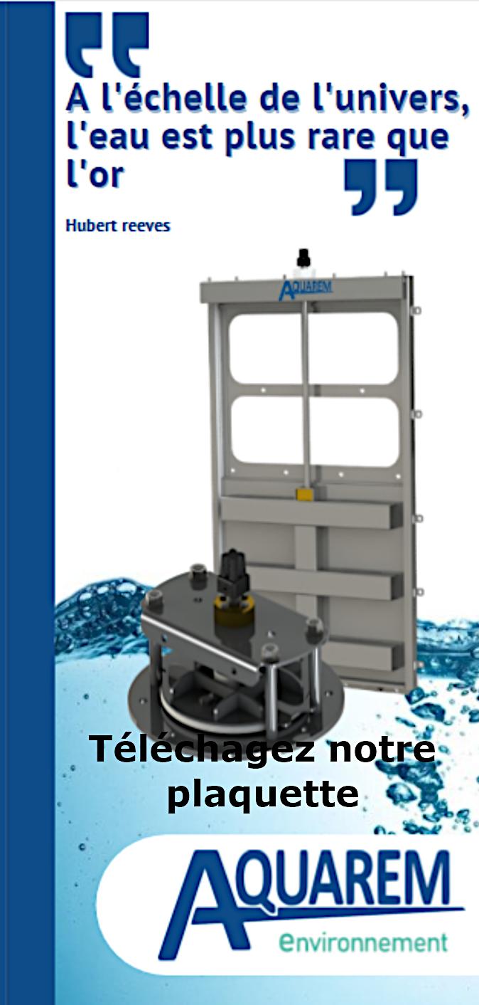 plaquette Aquarem-environnement votre ingénieur hydraulique à Dagneux dans l'Ain près de Lyon